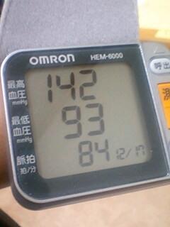 12/17 今朝の血圧
