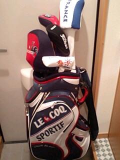 ゴルフの準備完了