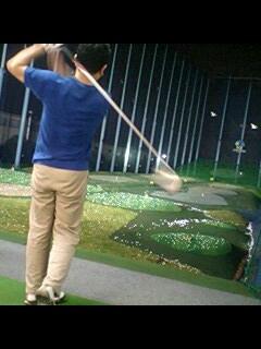 4/22 水曜ゴルフ練習