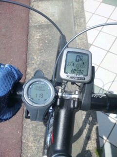 5/21 自転車練習